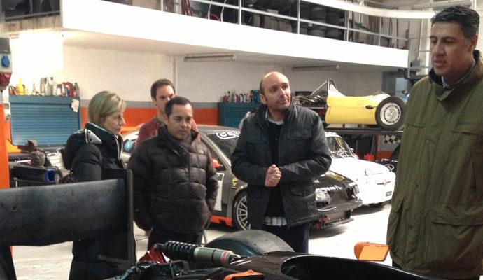 El President de la FEB visita l'empresa automobilística RS Group