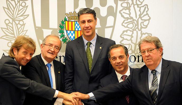 La Federació Empresarial de Badalona i PIMEC acorden un nou model patronal a Badalona i Montgat