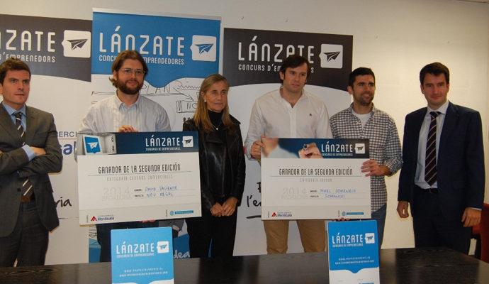 Creació d'ocupació amb el concurs Lánzate