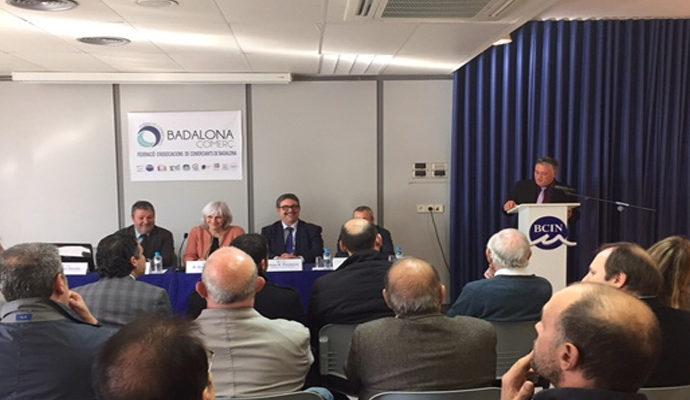 L'Ajuntament de Badalona cedeix un local del BCIN a la Federació d'Associacions de Comerciants de Badalona