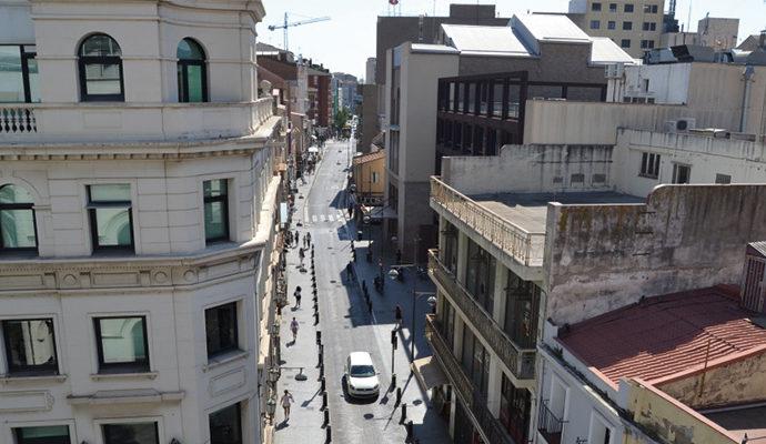 Millora del paviment de formigó del carrer de Francesc Layret