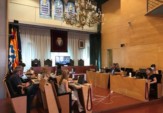 Resum dels acords del Ple extraordinari de l'Ajuntament de Badalona del 21 de juliol de 2020