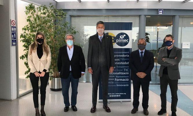 L'Ajuntament de Badalona i FEB PIMEC impulsen un programa per incentivar la contractació de 60 badalonins