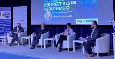"""José Mª Gay de Liébana: """"Haurem d'esperar fins al 2025 perquè l'economia torni a nivells prepandèmia"""""""