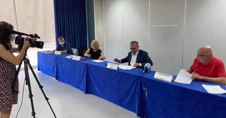 """FEB-PIMEC, la FAVB, UGT i CCOO Barcelonès Nord reclamen que el Ple Municipal aprovi el """"Pla de Reactivació Econòmica i Social de Badalona"""""""